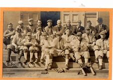 Real Photo Postcard RPPC - CHS Baseball Team - Sports