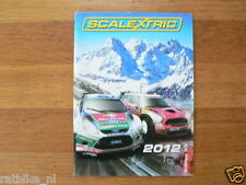 SCALEXTRIC CATALOGUE ISSUE 2012 JAMES BOND 007 SKYFALL,STAR WARS BATTLE OF ENDOR