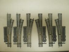 6 BRASS SWITCHES HO SCALE  (LOT 266A)