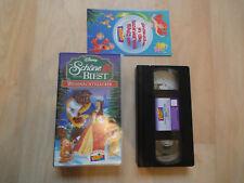 Walt Disneys Die Schöne und das Biest Weihnachtszauber VHS Kasette