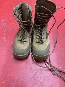Bates Hot Weather Combat Hiker Boots Olive Mojave Size 7 wide
