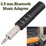 HOT Mini Wireless Bluetooth Car Kit AUX Audio Receiver Hands free 3.5mm Jack New