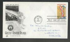 1966 USA Great River Road FDC. Baton Rouge First day cover