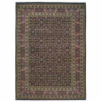 Hand-Knotted Oriental Herati Design Traditional Wool Rug 4.10 X 7.0 Brral-6195