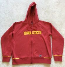 Youth Nike Iowa Star Cyclones Full Zip Hooded Jacket Size Large Preowned