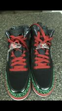 Jordan Spizike Big Kids 317321-026 Black Varsity Red Green Shoes Youth Size 7Y