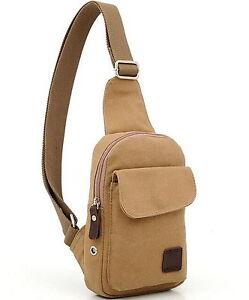 small shoulder bag handbag Chest bag man bag Messenger bag men's casual canvas