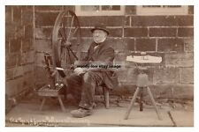 rp14375 - Old Hand Loom Weaver , Stanbury , Yorkshire - photo 6x4