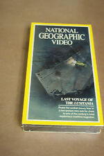 Title National Geographic Video – VHS – Last Voyage of the Lusitania – NOS