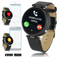 Smart Watch Bluetooth 4.0 Space Gray Metal Body For iPhone 6s Galaxy S6 edge