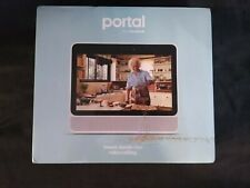 """Facebook 10.1"""" Portal Smart with Alexa - White NEW IN HAND FREE SHIPPING"""