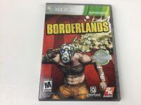 Borderlands (Microsoft Xbox 360, 2009) Complete Near Mint - Free Ship