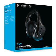 Logitech G933 Artemis Spectrum Wireless Gaming-Headset, Binaural Stereo  7.1
