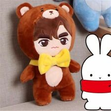 KPOP Infinite Hoya Lee HoWon Bear Plush Toy Stuffed Doll Gift Fans Collection