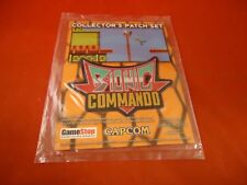 Bionic Commando 2009 Promotional Collector's Patch Set NES Xbox 360 PS3 Promo