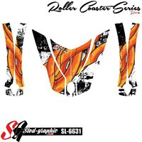 *NEW* CAN-AM SPYDER RT HOOD FENDERS WRAP DECAL STICKER GRAPHICS KIT SL6631
