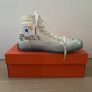 Converse Off White Sneakers Zapatillas VULCANIZED 42 / 8 1/2 *LIKE NEW*