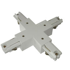 Zumtobel Staff Kreuz X - Verbinder 3-Phasen Stromschiene weiß S2801210 wie ERCO