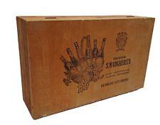 grande caisse de vins ancienne - italie - jolie déco maison