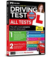 Driving Theory Test Success All Tests And Hazard Perception PC DVD 2021 Version