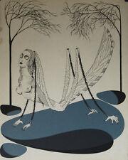 """""""La locuste"""" Lithographie de Félix LABISSE"""
