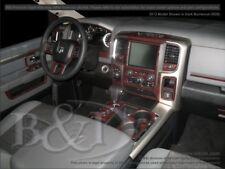 Dash Trim Kit for DODGE RAM 13 14 15 carbon fiber wood aluminum