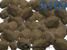 100 X Gas Chargrill Cerámica briquete resistente de larga duración Garland Archway Etc
