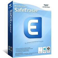 Wondershare SafeEraser MAC lifetime dt.Vollversion Download