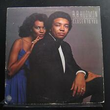 R.B. Hudmon - Closer To You LP VG+ SD 5204 Cotillion 1978 Vinyl Record