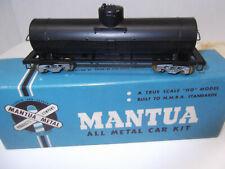 HO Metal Tank Car Kit Mantua