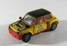 Corgi Renault 5 Turbo yellow ELF No.9 Michelin no box Diecast Toy Car E5