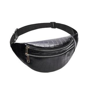 Bolsa De Cintura De Cuero Para Mujeres Cinturón Bolso Diseñador Lujo Moda Casual