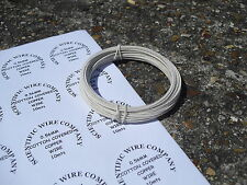 Vintage Cotton cubierto alambre gancho para guitarras y amplificadores de 3 metros 1.25mm