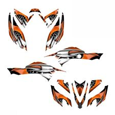 TRX 400ex graphics kit for 2008 -2016 Honda ATV #4444 Orange FREE CUSTOM SERVICE