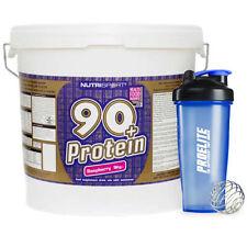 Proteine e prodotti polvere blu per il body building