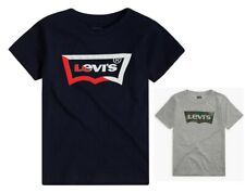 NEW Boys Levi's Logo Batwing Tee size XS-4, 6