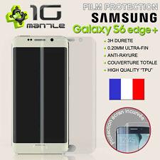 Film Protection/Protege Ecran Total/Incurvé Samsung Galaxy S6 Edge+/Plus PET/TPU
