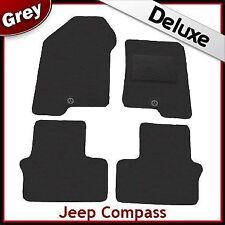 Jeep Compass 2006 onwards Tailored LUXURY 1300g Carpet Car Floor Mats GREY