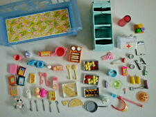 BUNDLE OF BARBIE FURNITURE - MOSTLY KITCHEN ACCESSORIES
