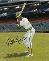 RICKEY HENDERSON 8x10 SIGNED PHOTO AUTOGRAPHED ( HOF Athletics ) REPRINT