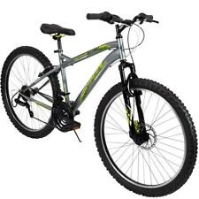 Huffy Mountain Bike Mens 26 Inch Silver 18 Speed Extent NEW