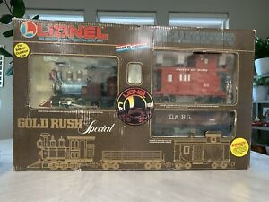 Lionel 8-81000 Gold Rush Special Train With Track Good Working Condition