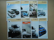 JDM SUBARU KEI Class Vehicles Original Sales Brochure Catalog SAMBAR PLEO