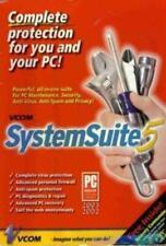 Vcom System Suite 5 PC CD fix computer utilities, clean confidential data tools