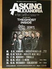 ASKING ALEXANDRIA – MOTIV 2 2014 - orig.Concert Poster -- Konzert Plakat  A1 NEU