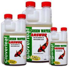 Clover Leaf Algae Control Pond Water Treatments