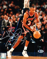 STEVE SMITH SIGNED AUTOGRAPHED 8x10 PHOTO MIAMI HEAT LEGEND BECKETT BAS