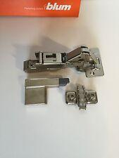 6 PCS of Blum 170 Degree Blumotion Hinges Soft Close 71T6550 with clip 173L8100
