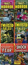 EC COMICS 6 N° TWO FISTED TALES+VAULT OF HORROR+HAUNT OF FEAR+SHOCK SUSPENSTORIE