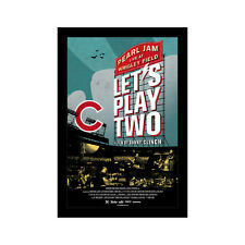 PEARL JAM LET'S PLAY TWO- 11x17 Framed Movie Poster by Wallspace